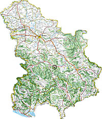 The Best Auto maps of Serbia